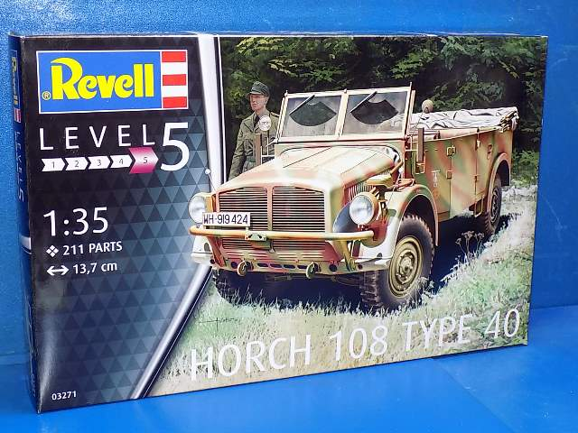 Revell 1/35 3271 Horch 108 Type 40