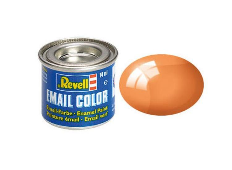 Revell 14ml 32730 730 Orange Clear Enamel Paint