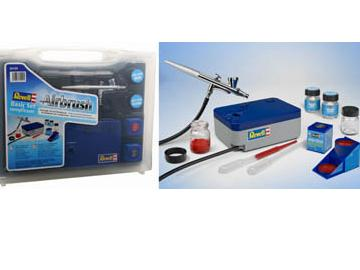 Basic Airbrush set with Compresor GB