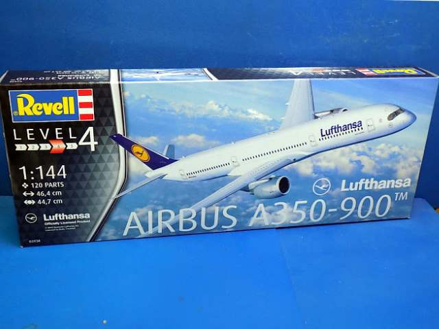 Revell 1/144 3938 Airbus A350-900 Lufthansa