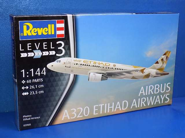 Revell 1/144 3968 Airbus A320 Etihad Airways