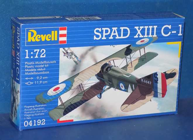 Revell 1/72 4192 Spad XIII C-1