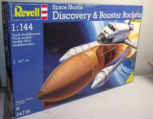 revell discovery space shuttle with boosters - photo #17