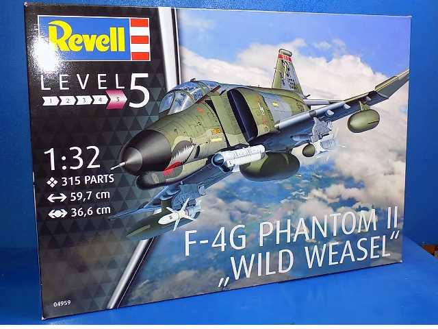 revell 1 32  Revell 1/32 4959 F-4G Phantom II Wild Weasel