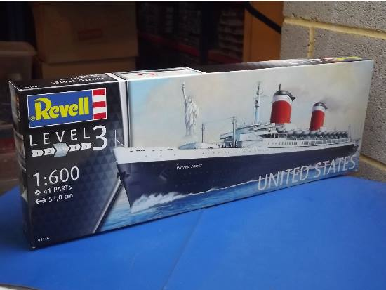 revell 1600 5146 ss united states - Revell Night Color