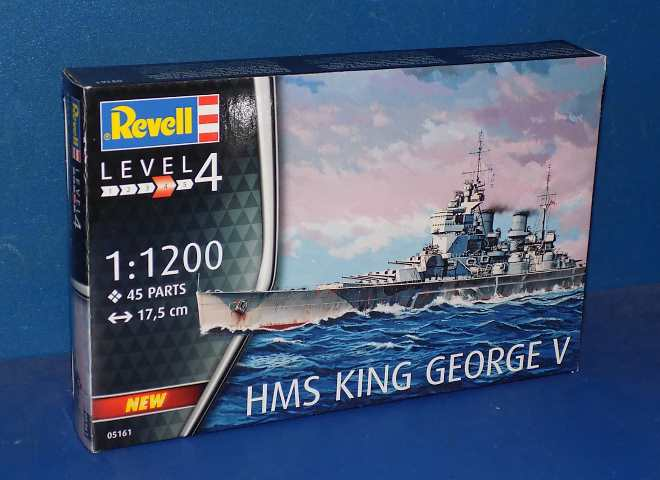 Revell HMS King George