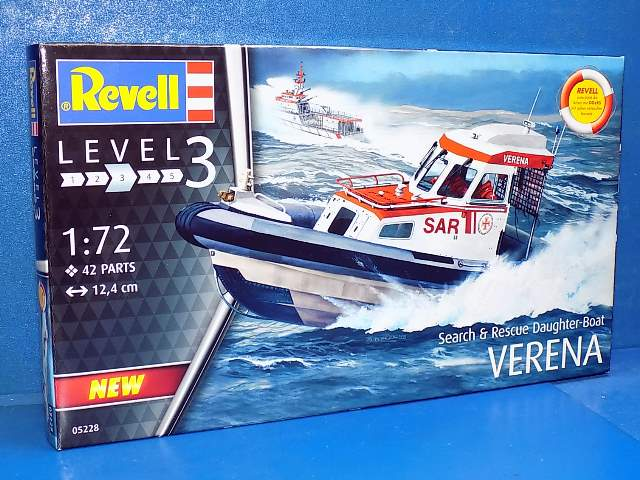 Revell Search & Rescue Daughter-Boat VERENA 5228a