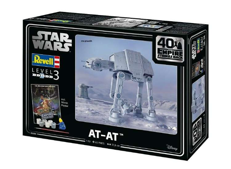 Revell Star Wars AT-AT 40th Anniversary Gift Set