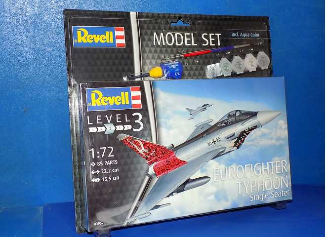 Revell Eurofighter Typhoon single seater Gift Set
