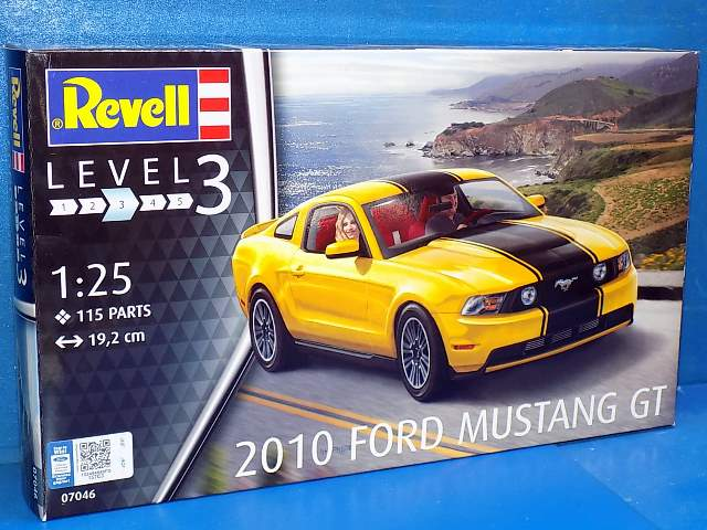 Revell 2010 Ford Mustang GT 7046