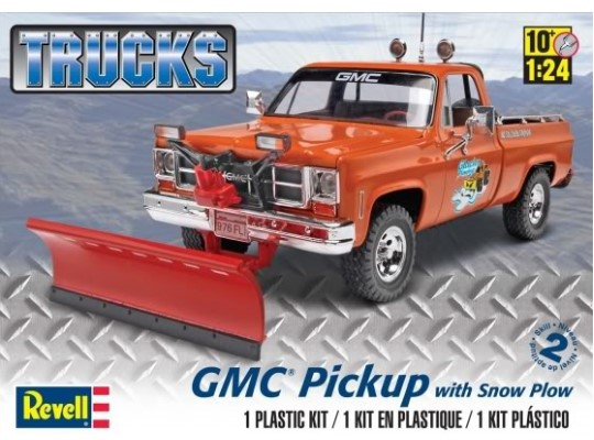GMC Pickup w/ Snow Plow