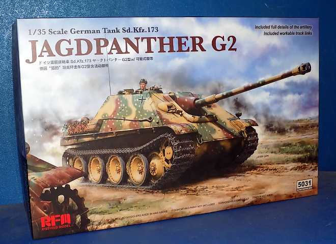 Rye Field Sd.Kfz.173 Jagdpanther G2 w/ Workable Track Links 5031