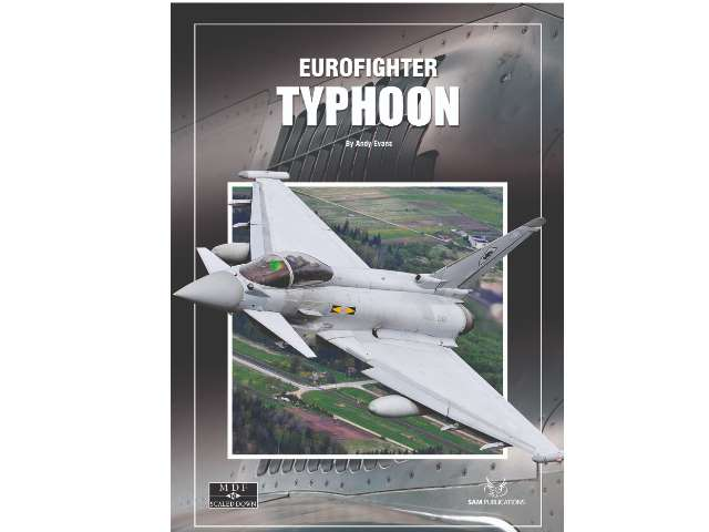 Sam Publications Modellers Datafile Scaled Down - Eurofighter Typhoon MDFSD10