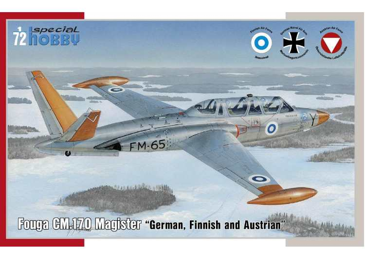 Special Hobby Fouga CM.170 Magister German, Finnish and Ostereich 72373