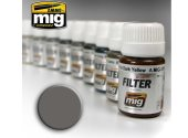 Ammo Mig 30ml 1501 Enamel Filter - Grey For White