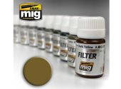Ammo Mig 30ml 1503 Enamel Filter - Ochre For Light Sand