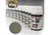 Ammo Mig 30ml 1505 Enamel Filter - Grey For Yellow Sand