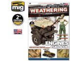 Ammo Mig - 4503 The Weathering Magazine No 4 - Engines, Grease, Oil