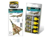 Ammo Mig 17ml x4 7200 IAF Desert Colours Acrylic Paint Set