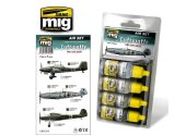 Ammo Mig 17ml x 4 7210 Luftwaffe (Early WWII) Acrylic Paint Set