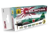 Ammo Mig 17ml x 6 7230 Imperial Japanese Navy Aircraft Acrylic Paint Set
