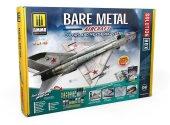 Ammo Mig - 7721 Bare Metal Aircraft Colors and Weathering / Paint System Box