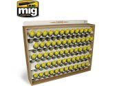 Ammo Mig - 8005 17ml Paint etc Bottle Storage System (Stores 60)