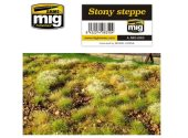 Ammo Mig - 8350 Stoney Steppe Grass Mat 230 x 130 mm.