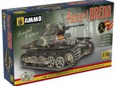 Ammo Mig 1/16 8503 Panzer I Ausf. A Breda, Spanish Civil War light tank