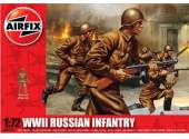 Airfix 1/72 01717A WWII Russian Infantry