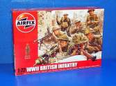 Airfix 1/72 01763 WWII British Infantry N Europe