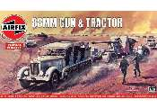 Airfix 1/76 02303V 88mm Gun and Tractor