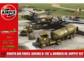 Airfix 1/72 12010 8th AF B-17G and Bomber Re-Supply Set