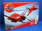 Airfix 1/48 50159a Red Arrows 50th Display Season Gift Set - Hawk, Gnat with Glue and Paints
