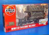 Airfix 1/32 50163 WWI B Type Bus Old Bill Gift Set