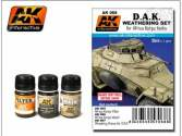AK Interactive 3 x 35ml 00068 Africa Korps Weathering Set