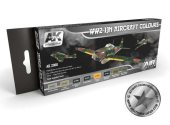 AK Interactive 8x17ml 02060 WW2 IJN Aircraft Colours