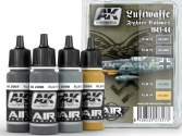 AK Interactive 4 x 17ml 02090 Luftwaffe Fighter Colours 1941-44 Paint Set