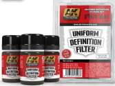 AK Interactive 3 x 35ml 03008 Uniform Definition Filter Set