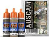 AK Interactive 3 x 17ml 04020 Austrlaian Camouflage Colours Paint Set