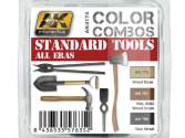 AK Interactive 3 x 17ml 04174 Standard Tools All Eras Colour Combo Set