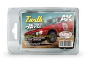 AK Interactive 35ml x3 08089 Earth Weathering Effects (Rally Cars)