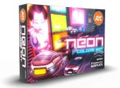AK Interactive 17ml x6 11610 Neon Colors - Acrylic Paint Set