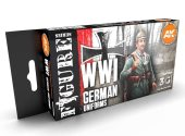 AK Interactive 17ml x6 11629 WWI German Unforms - 3G Acrylic Paint Set