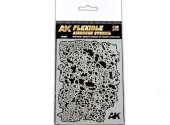 AK Interactive - 9080 Flexible Airbrush Stencil 1/48 and 1/72