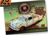 AK Interactive na BOOK090 Ratz, Rods and Rust - Building Civil Vehicles