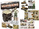 AK Interactive na BOOK423 The Weathering Magazine Number 4: Engines, Fuel and Oil