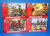 Airfix 1/76 SP08 Japanese, WWI US Infantry, German Paratroops & Russian