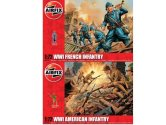 Airfix 1/76 SP23 WWI French Infantry and WWI US Infantry