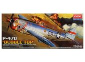 Academy 1/72 12491 P-47D Thunderbolt Bubble Top
